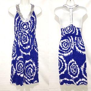 International Concepts INC T-Back Tie Dye Dress M